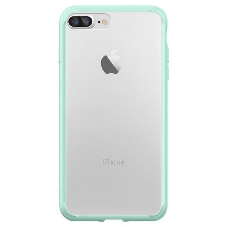 Spigen Ultra Hybrid iPhone 7 Plus Bumper Case - Mint Green