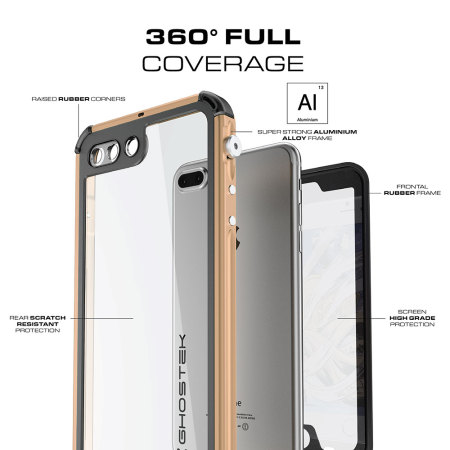 PCs ghostek atomic 3 0 iphone 7 plus waterproof tough case gold when play the
