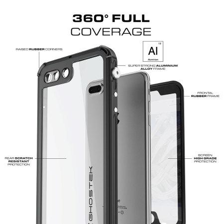 Ghostek Atomic 3.0 iPhone 7 Plus Waterproof Tough Case - Zwart