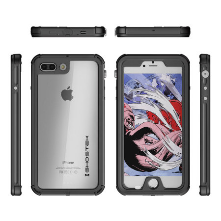 its rich high-resolution ghostek atomic 3 0 iphone 7 plus waterproof tough case black it's