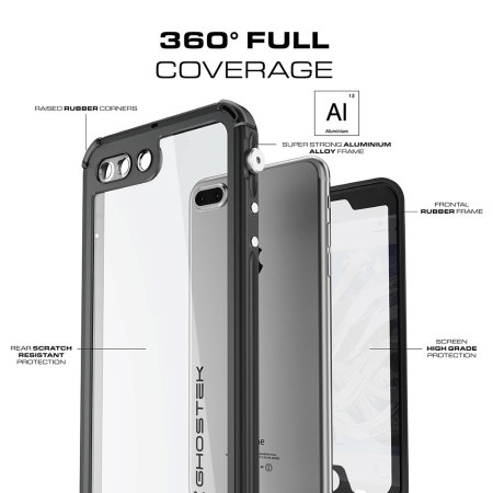 using boeing ghostek atomic 3 0 iphone 7 waterproof tough case black 4 you carry