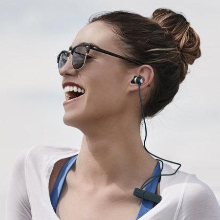 zagg ifrogz impulse wireless bluetooth earphones black silver