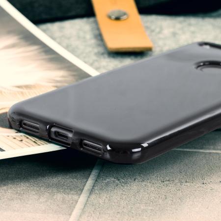 Olixar FlexiShield Google Pixel XL Gel Case - Solid Black