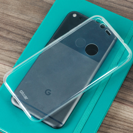 Olixar Ultra-Thin Google Pixel XL Gel Case - 100% Clear