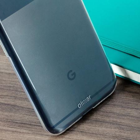 Olixar Ultra-Thin Google Pixel XL Gel Case - 100% Clear