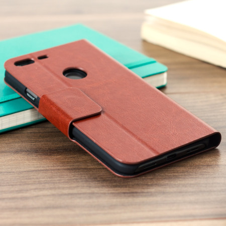 recently, series random olixar leather style google pixel xl wallet stand case brown 6 phone
