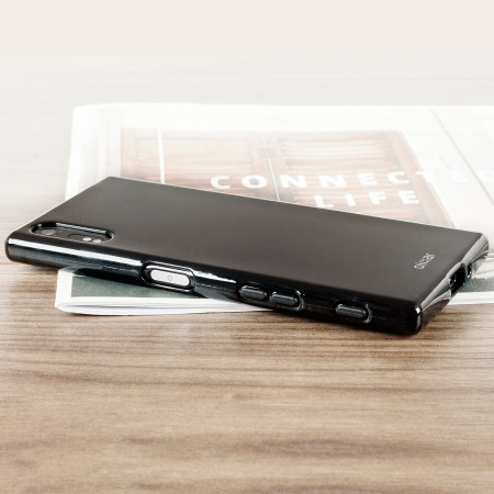 flexishield sony xperia x gel case solid black they never