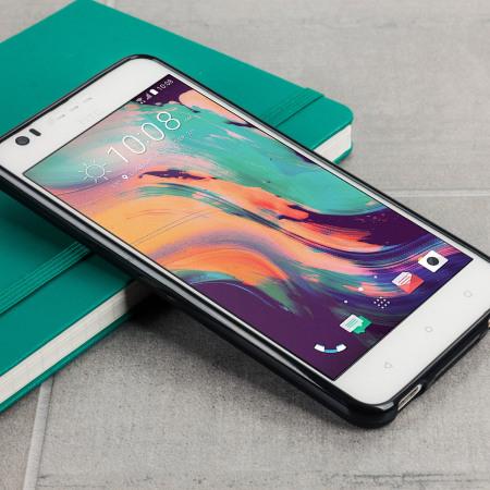 Olixar FlexiShield HTC Desire 10 Lifestyle Gel Case - Solid Black