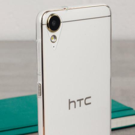 half off 392cf 63d4c Olixar FlexiShield HTC Desire 10 Lifestyle Gel Case - 100% Clear