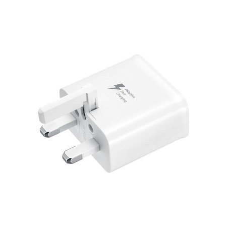 Official Samsung Fast Charging Adapter W/ Micro USB Cable - White