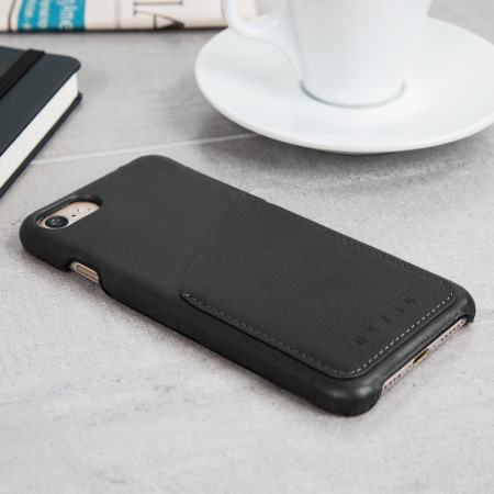innovative design 66c97 53c15 Mujjo Leather-Style iPhone 7 Wallet Case - Black