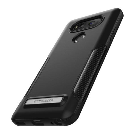 vrs design carbon fit series lg v20 case black