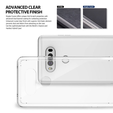 Rearth Ringke Fusion LG V20 Case - Clear