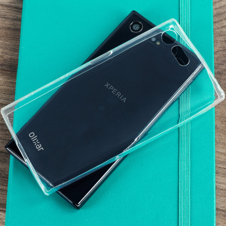 olixar ultra thin sony xperia x compact gel case 100 clear. Black Bedroom Furniture Sets. Home Design Ideas