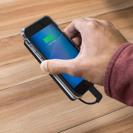 Mophie iPhone 7 Plus / 7 Hold Force Powerstation Plus Mini - Black