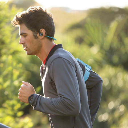 Auriculares Deportivos Bluetooth Plantronics BackBeat FIT - Azules