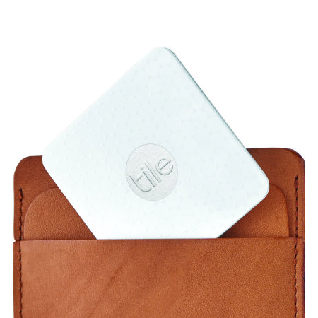Tile Slim Bluetooth Tracker Device - White