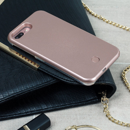 Casu iPhone 7 Plus Selfie LED Light Case - Rose Gold
