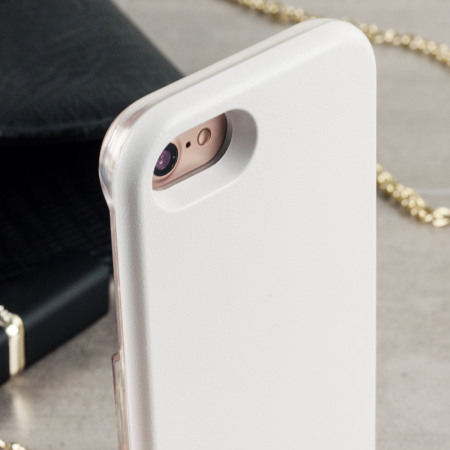 Casu iPhone 7 Selfie LED Light Case - White