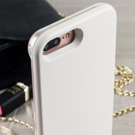 huge selection of 26ef8 0556f Casu iPhone 7 Plus Selfie LED Light Case - White