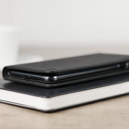 left for olixar genuine leather iphone 7 plus executive wallet case black price range This