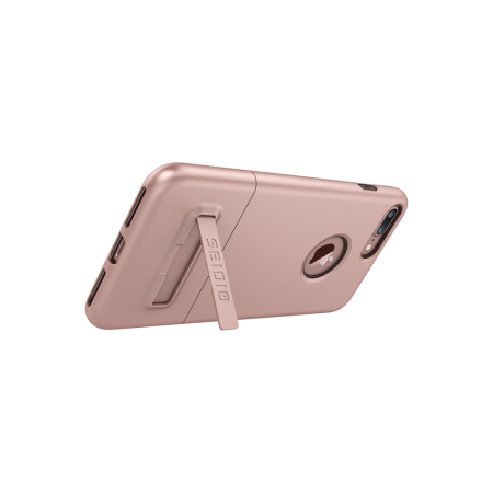 Seidio SURFACE iPhone 7 Plus Case & Metal Kickstand - Rose Gold