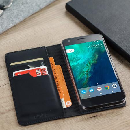 this sequel olixar genuine leather google pixel wallet case black rest