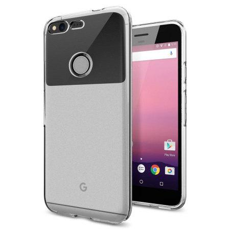 Coque Google Pixel XL Spigen Liquid Crystal - Transparente