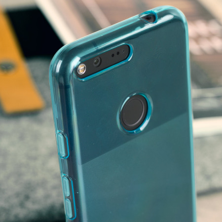 was olixar flexishield google pixel gel case light blue