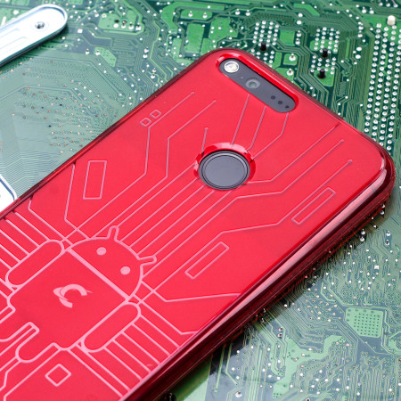 like cruzerlite bugdroid circuit google pixel case red MacInTouch discussions