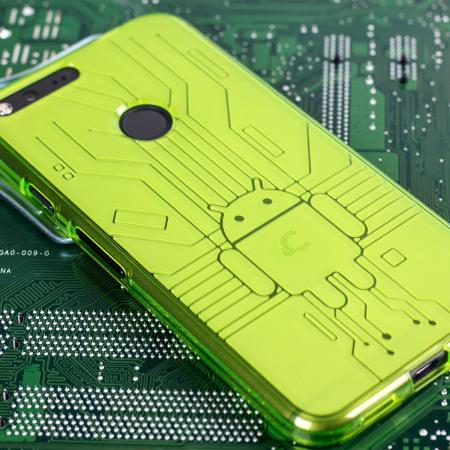 more cruzerlite bugdroid circuit google pixel xl case green time: the