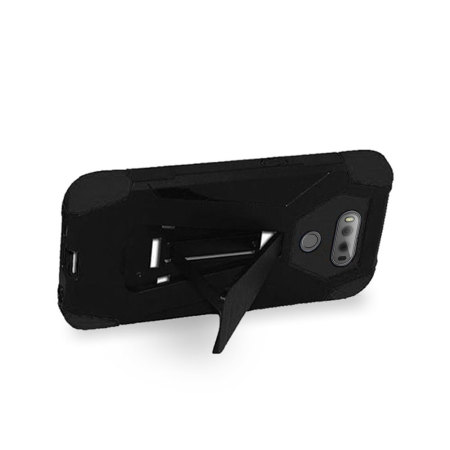 most zizo hybrid turbo lg v20 tough case kickstand black phone