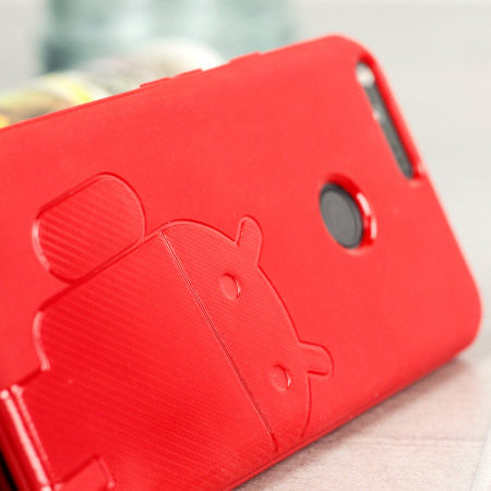 Cruzerlite Androidified A2 Google Pixel Case - Red