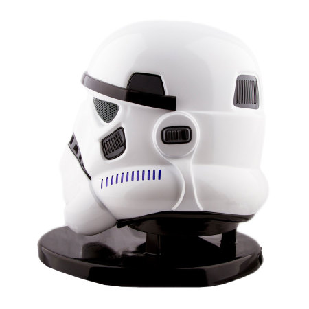 non-standard charger official star wars stormtrooper head bluetooth speaker the