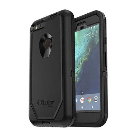 buy popular 44a30 5e428 OtterBox Defender Series Google Pixel XL Case - Black