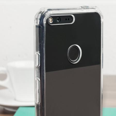 you'd cruzerlite defence fusion google pixel bumper case black clear