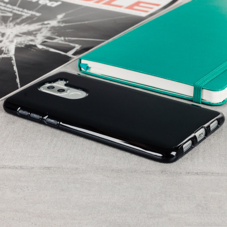 huawei 6x case. olixar flexishield huawei honor 6x gel case - solid black 6x