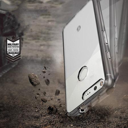 best sneakers 4ec1b d603f Rearth Ringke Fusion Google Pixel XL Case - Smoke Black