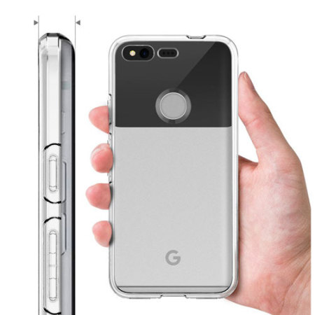 sports shoes d5d3e 4df81 Spigen Liquid Crystal Google Pixel Shell Case - Clear