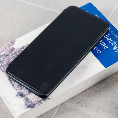 the latest 97788 ff769 Olixar Slim Genuine Leather iPhone 8 Plus / 7 Plus Wallet Case - Black
