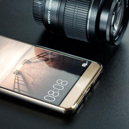 Olixar  FlexiShield Huawei Mate 9 Gel Hülle in Smoke Schwarz