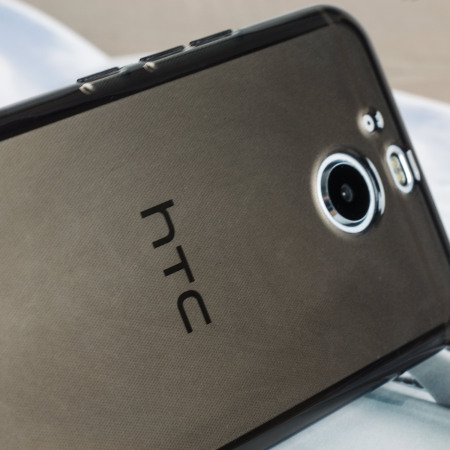 Olixar Flexishield HTC Bolt / 10 evo Gel Case - Smoke Black