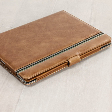 Tuff-Luv Alston Craig Vintage Leather iPad Pro 9.7 inch Case - Brown