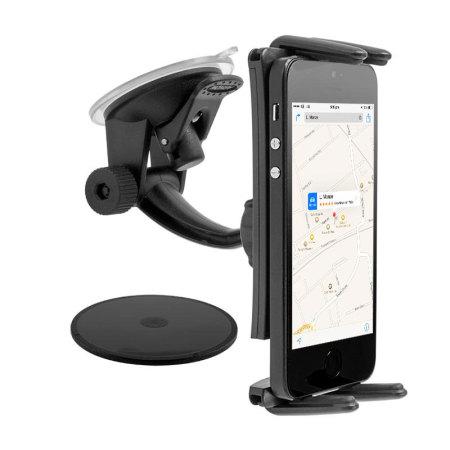 more arkon sm614 smartphone tablet dash windscreen mount laden schnell, Ruckler