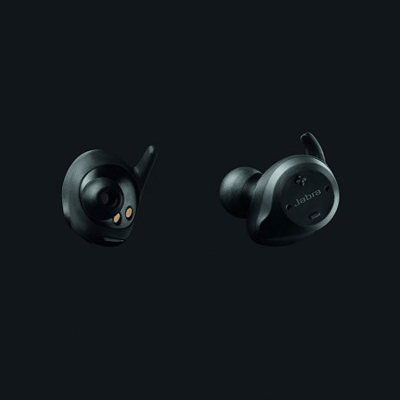 jabra elite sport wireless fitness earphones black