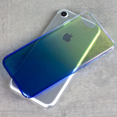 Olixar Iridescent Fade iPhone 7 Case - Blue Dream