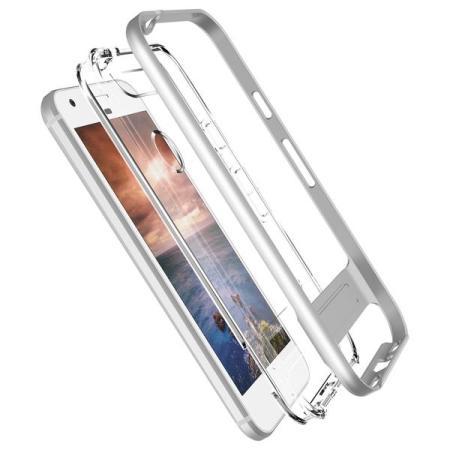 VRS Design Crystal Bumper Google Pixel XL Case - Light Silver