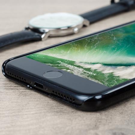 spigen thin fit iphone 7 plus shell case - jet black