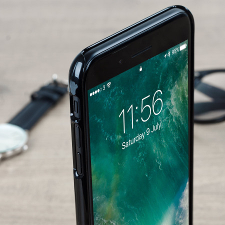 Spigen Thin Fit iPhone 7 Plus Shell Case - Jet Black