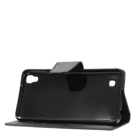 near zizo google pixel flip wallet cover black 2 the front